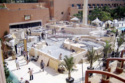 Egypt leading retail construction contractor
